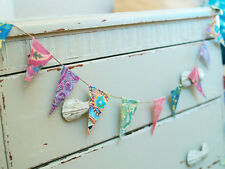shabby chic MINI BUNTING - dress up a dresser - cheer up a chest - IT'S TINY!!!!