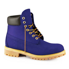 "SYCAMORE STYLE Custom Dyed ""Blueberry"" Timberland Boots"