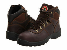 "RED WING Mens Irish Setter 6"" Steel Toe Work Boots Brown Leather 83608"