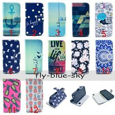 Vintage Flip PU Leather Stand Wallet Cover Case For iPhone LG Moto Samsung NOKIA