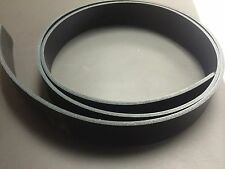 "8/9 oz beautiful Hot Rolled Black Leather Strap Belt Blank 50-65"" (Var. Widths)"