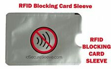 1/3/5/10 RFID Secure Sleeves Credit Card holder blocking protector cases wallet