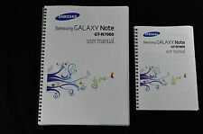 ~PRINTED~  Samsung Galaxy Note GT-N7000 User guide Instruction manual A4 or A5