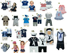 Baby Kids Boy Girl Clothes Dress Outfit, Sailor Marine Fancy Party Newborn-5Y