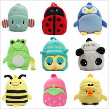 Baby Cute Plush Animal Bag Travel Snacks Bag Cartoon Backpack , Back To School