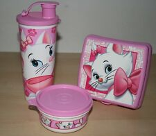 TUPPERWARE Marie aristocat Tumbler, Sandwich Keeper, Snack Cup New