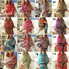 New Pashmina Women's Air-conditioning Warm Long Wraps Shawl Scarf Scarves 098
