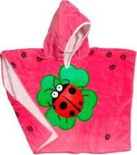 Neu Playshoes Badetuch Badeponcho Frottee Poncho Glückskäfer L Kapuzenhandtuch