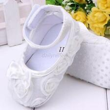 Baby Shoes Girl Kids Rose Flower Shoes Infant Children Cotton Crib Toddler Shoes