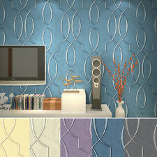 5 Color Vintage Style Silver Embossed Lines Background Wallpaper Wallcovering
