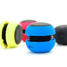 Mini USB Portable Hamburger 3.5mm Stereo Speaker For Laptop PC iPhone iPod Phone