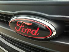 Ford F150 F-150 f&r oval emblem DECAL / STICKER OVERLAY SET 09 10 11 12 13 14