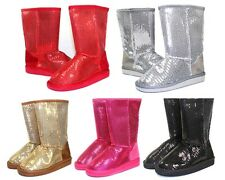 ALING-7K Brand New Blink Cute Kids/Toddlers/Youth Mid-Calf Flats Winter Boots