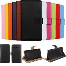 Fashion Design Genuine Leather Case Flip Wallet Cover For Huawei Ascend Y530