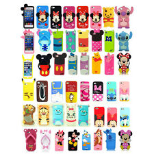 Hot 3D Disney Cartoon Super Hero Rubber Soft Back Case Cover for iPhone 5S 4G 4S