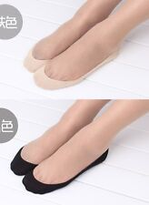 Women Cotton Lace Antiskid Invisible Liner No Show Peds Low Cut Socks WZ001