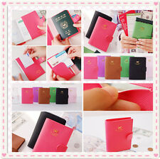 Hot Fashion Bowknot Crown Buckles E-Passport Protect Cover Passport Case Holder