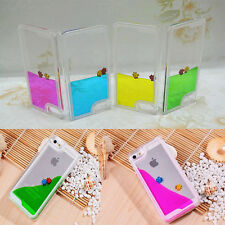Fashion Swimming Fishes Movable Hard Case Cover Skin For iPhone 5 5S 5G 4 4S 4G