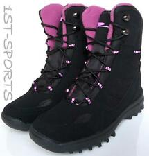 NEW WOMENS WINTER BOOTS FLEECE LINED BLACK, SNOW, BOOTS UK SIZE 4 - 7