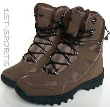 NEW WOMENS WINTER BOOTS FLEECE LINED BROWN, SNOW, BOOTS UK SIZE 4 - 5