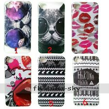 Cat Ethnic MATATA  Silicone Soft TPU Back Case Skin Cover For iPhone Samsung