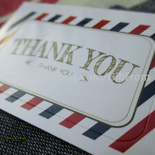 100pcs Adhesive Envelope Seal Stickers Labels_Thank you, handmade, for you