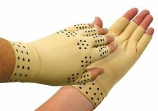 Magnetic Therapy Support Gloves Arthritis Pressure relief pain heal joints