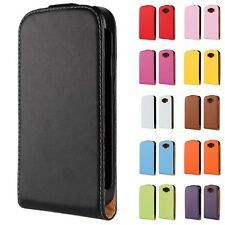 New Fashion Genuine Leather Case Fitted Cover for Samsung Galaxy Grand Neo I9060