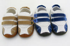 Classic Baby boy Leisure Crib Shoes soft soled Shoes Size 3-6 6-9 9-12 month