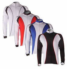 New Fleece Thermal Winter Cycling Long Sleeve Jersey Bike Casual Jacket 4 Color