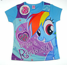 My Little Pony Horse Kids Girls T shirt Size 4,6,8,10 age 2-8 #03 New Gift