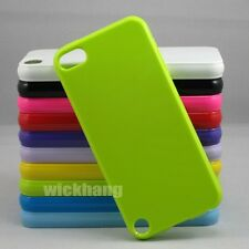 Colorful Solid Color Candy Jelly Soft TPU Gel Case Skin for Apple iPod Touch 5