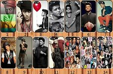 iPhone 5/5S hard plastic case cover handsome Bruno Mars-add message if iPhone 6