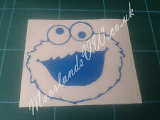 'Cookie Monster' Vinyl Car Sticker, VW Audi Skoda Seat BMW Merc Sesame Street