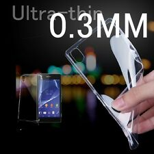 Ultrathin Transparen Gel Case Cover For Sony Xperia Z1 Z2 Z3 C3 M2 T2 E1 Compact