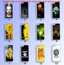iPhone Samsung Hard CASE Phone COVER BREAKING BAD Walter White Jesse Pinkman