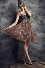 NWT $228 Anthropologie Honeyed Lace Dress Moulinette Soeurs Sizes 2 or 8
