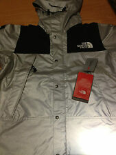 SUPREME 2013 SS NORTH FACE REFLECTIVE 3 M MOUNTAIN PARKA JACKET WAXED BLACK L XL