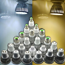 Dimmable E27 E14 MR16 GU5.3 GU10 4W 5W 9W 12W 15W LED Spotlight Lamp Bulb