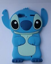 lovely 3D cartoon Stitch Soft Silicone Case Cover For VARIOUS Mobile Phones