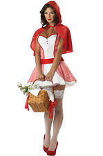 Little Miss Red Riding Hood Adult Costume