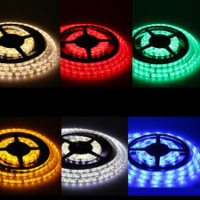 US Waterproof Super Bright 5M 3528 5050 SMD 300/600 LED Flexible Strip light 12V