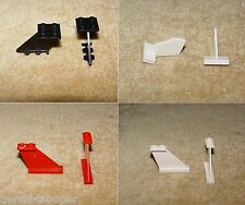 LEGO Parts: Tail: CHOOSE YOURS 2340 4x1x3, 3479 4x2x2, 44661 Shuttle Tail ETC!!