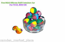 Silicone Non Stick Ball Container Concentrate Jar WAX BHO Oil Dab Shatter Colour