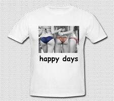 T SHIRTS-HAPPY DAYS-SEXY BIKINI GIRLS-FUNNY,PRESENT-AVAILABLE IN 6 COLOURS
