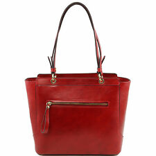 TUSCANY LEATHER women tote with two handles made in Italy
