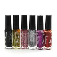 Lady Nail Polish Lacquer Glitter Collection Home Salon Nice Manicure Nail Polish