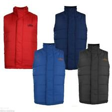 MENS TOKYO LAUNDRY GILET FLEECE LINED BODYWARMER WINTER SLEEVELESS JACKET 1J5018