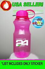 """HERBALIFE PRODUCTS LINE BAG CUP MUG VINYL DECAL STICKER LABEL 2.25""""x 2.25"""" *NEW*"""
