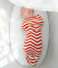 ERGO AIR COCOON - SOFT BAMBOO WRAP - 3 SIZES AVAILABLE - CORAL CHEVRON ergoPouch
